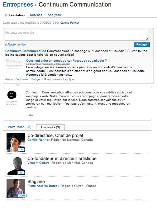 Comment créer sa page Entreprise Linkedin