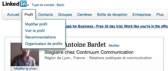LinkedIn continuum communication